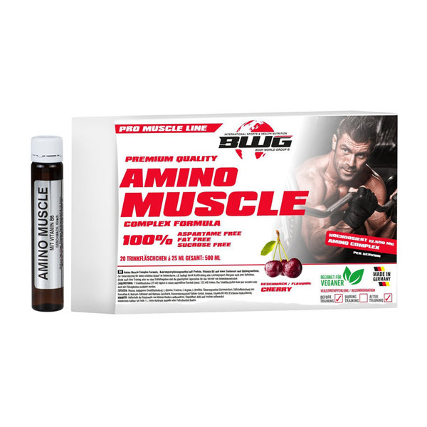 BWG Amino Muscle Complex - 20 ампули